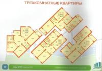 3 комнатные квартиры в ЖК Новогорелово